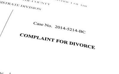 How to Respond to a Divorce Complaint